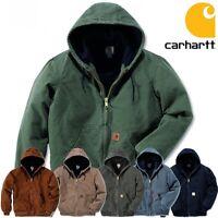 Carhartt Herren Men Winterjacke Jacke Jacket Sandstone Active Quilt Flannel NEU