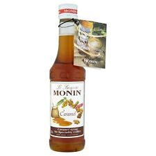 MONIN Coffee Syrup CARAMEL 25 CL - Ideal Size for trying out this great flavour!