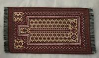 Qualilty Artisan Miniature Dollhouse Silk Area Rug Carpet Persian 4x6 Fringe