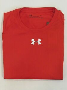 NEW MEN'S UNDER ARMOUR GOLF L/S HEAT GEAR T-SHIRT, PICK A SIZE AND COLOR, $40