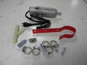 Block Heater Universal Circulating Tank Coolant Heater J D Tractor 1500 Watts