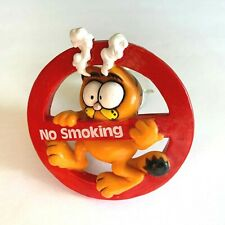 Garfield the Cat Suction Cup Car Window Clinger Figurine No Smoking