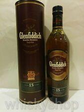 GLENFIDDICH SOLERA RESERVE 15 YEARS SINGLE MALT OLD SCOTCH WHISKY