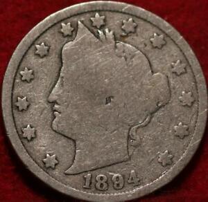 1894 Philadelphia Mint Liberty Nickel