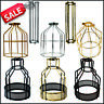 Vintage metal custom design light cage Wire frame loft ceiling pendant shade