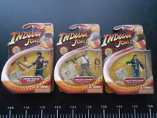 Lotto 3 Figure Indy Indiana Jones Action Figures crystal skull teschio cristallo