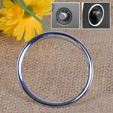 ABS Chrome Decoration Circle Car Door Rearview Mirror Switch Knob For Chevrolet