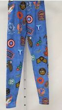 $52 NWT Zara Terez Patches Design Leggings Girls Size L Or 14