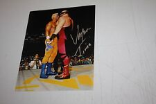 WWE WCW BIG VAN VADER SIGNED AUTO 8X10 PHOTO WITH STING FORMER CHAMP