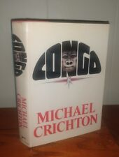 Michael Crichton - Congo SIGNED to his lawyer 1st/2nd Association Copy 1980