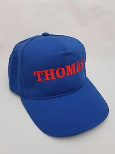 Personalised Kids Children's Embroidered base ball cap hat