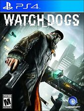 Watch Dogs [PlayStation 4 PS4, Open World Action Video Game] NEW