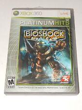 BioShock Platinum Hits (Microsoft Xbox 360, 2007)  **COMPLETE**