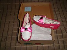 Umi Morie J Kids / Girls Shoes Pink Multi Leather 25Eur / 8.5Us Toddler Nib