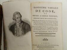 Troisième voyage de Cook ou voyage a l'océan pacifique. 4 volumi / Parigi,