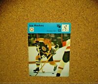 1977 Sportscaster (Japan) #01-02 Bobby Orr (Boston Bruins)