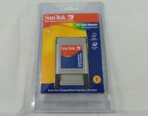 Sandisk PC Card Adapter PCMCIA for CompactFlash Memory Cards (SDCF-05)