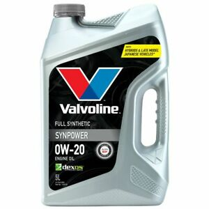 Valvoline SynPower 0W-20 Engine Oil 5L