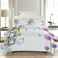 Earth Recovery 3D Quilt Duvet Doona Cover Set Single Double Queen King Print
