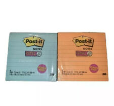 Post-It 4 in x 4 in Assorted Sticky Notes 280 Sheets Total Lot Of 2