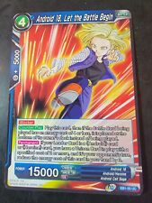 Android 18, Let the Battle Begin EB1-20 Uncommon Dragonball Super