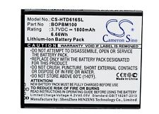 Replacement Battery For HTC 3.7v 1800mAh / 6.66Wh Mobile, SmartPhone Battery