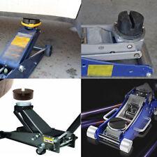 1 X Black DIY Car SUV Slotted Frame Rail Hydraulic Floor Jack Disk Rubber Pad FL