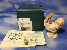 """NEW HTF Retired Harmony Kingdom NetsUKe """"Sammy"""" Rooster Figurine TJNRO NIB"""