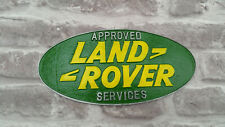 Large Approved Services Garage Sign for Land Rover Series Defender Heritage