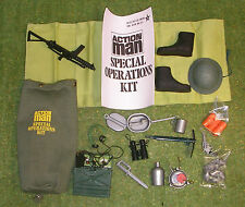 VINTAGE ACTION MAN 40th SPECIAL OPERATIONS KIT BAG 1/6 SCALE