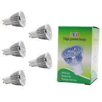 5x 5W GU10 LED Lampen Spotlight Leuchtmittel 350lm Warmweiß,3000K 60° Beam angle