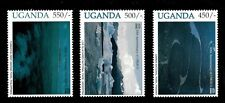 Uganda 1996 - UNESCO - Set of 3 Stamps (Scott #1431-3) - MNH