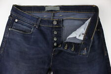 French Connection 54JHC Uomo ~ W36/L31 Elasticizzato Sbiadito Slim Jeans 34594_