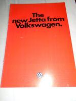 VW Jetta range brochure Dec 1979