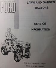 ford outdoor power equipment manuals guides ebay rh ebay com Ford Focus Haynes Repair Manual Chilton Repair Manuals PDF
