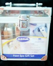 NEW DR SCHOLL'S FOOT SPA GIFT SET, ROTARY APPLIANCE, FOOT CREAM, SALTS, CLIPPERS