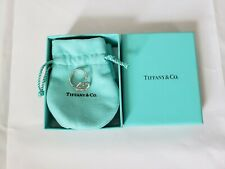 Tiffany & Co Sterling Silver Elsa Peretti Open Heart Ring Size 6