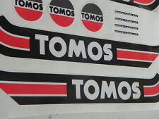 TOMOS  DECAL KIT , STICKER KIT, Vintage , Classic  Moped, Retro ,A3 M MS