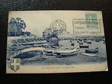 FRANCIA - tarjeta postal - toulon el fuerte san luis 1922 (cy23)