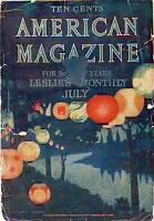 1906 American July - San Francisco Earthquake;Single Woman Problem;Standard Oil