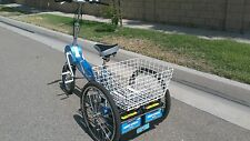Electric e-Trike Row n Go motorcycle, tricycle, rowing bike all in one!