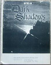 """Dark Shadows Fanzine """"Dark Shadows Videocassette Episode Guide"""" GEN"""