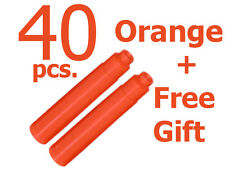 40 Fountain Pen Ink Cartridge Refills ORANGE + GIFT