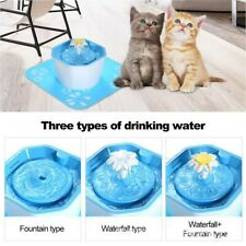 1.6L Automatic Electric Pet Water Fountain Cat/Dog Drinking Dispenser w/ Filter
