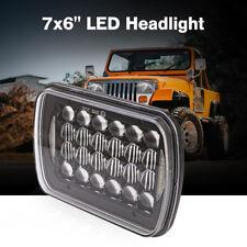 New listing 5x7'' 7x6'' Led Headlight Hi-Lo Beam Halo Drl For Jeep Cherokee Xj Wrangler Yj