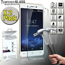 2 Pack Real Tempered Glass Screen Protector Cover For Cubot R9