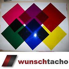 Farbfilter für Tachoscheiben Beleuchtung Alfa Audi BMW