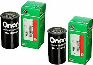 Cummins Onan 122-0836 Oil Filter 2 PACK