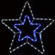 christmas star lights outdoor led star blue white led rope light christmas xmas decoration indoor outdoor buy lights in garden