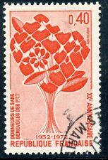 STAMP / TIMBRE FRANCE OBLITERE N° 1716 DONNEURS DE SANG PTT